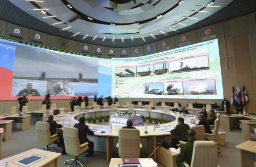 Russian War Room