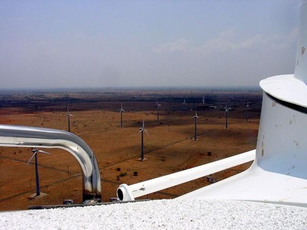 Windfarm Kayathar India Tamil Nadu