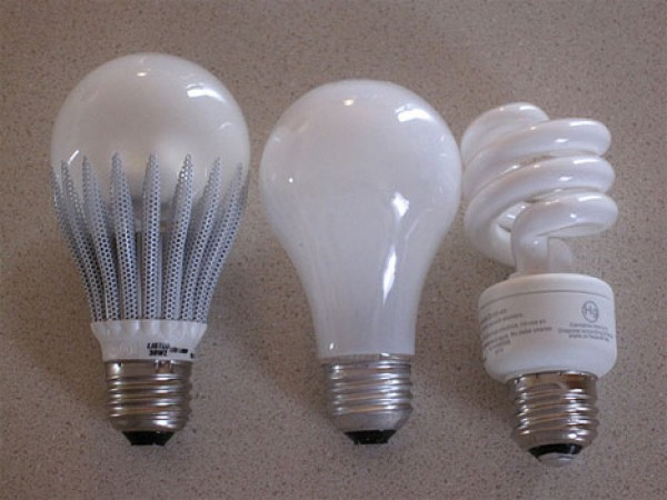 Different Ligthbulbs