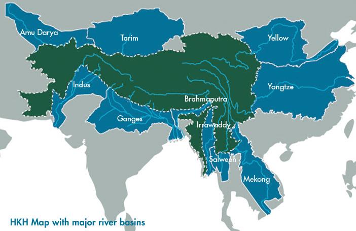 Asian River Basins