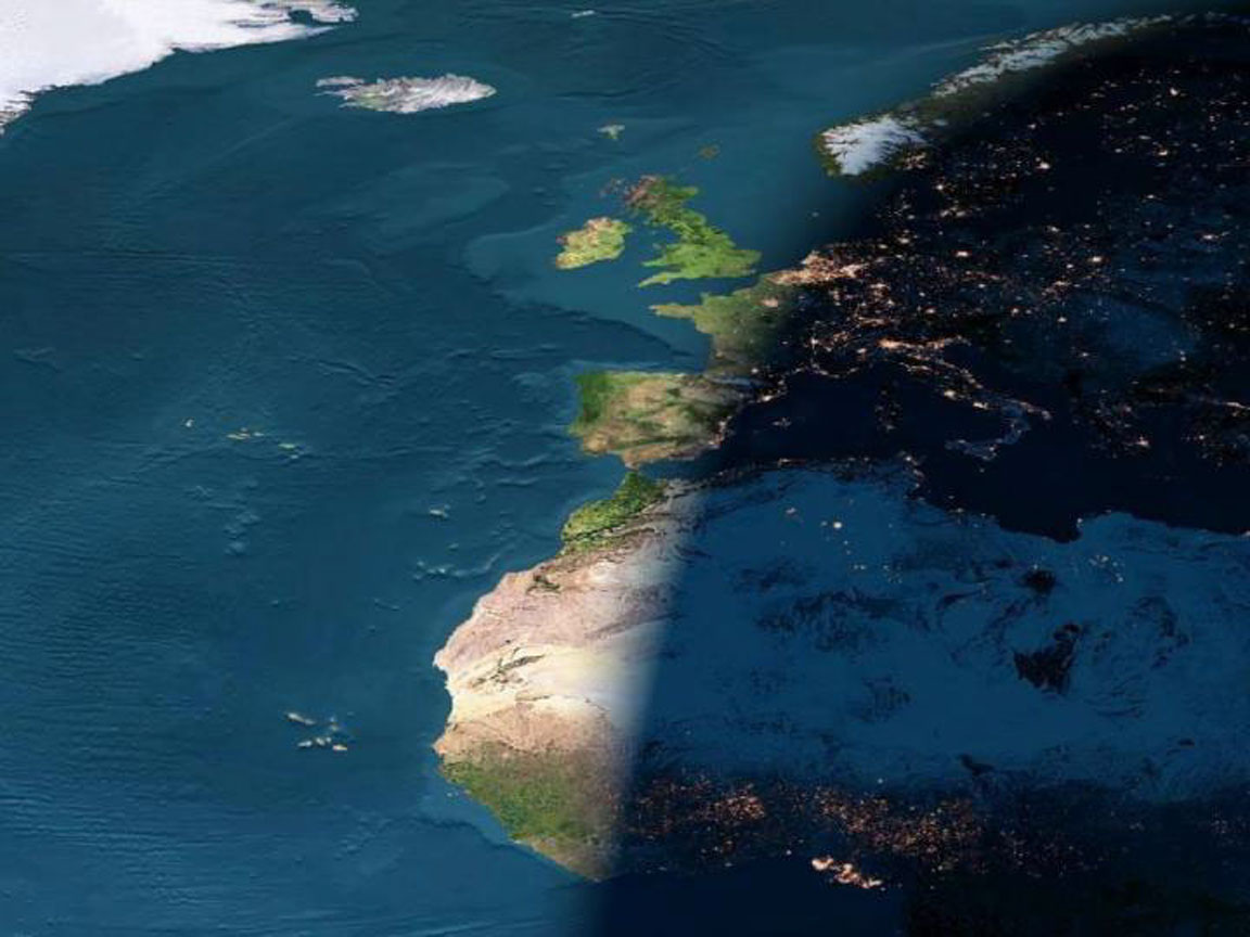 Day & Night Over Europe