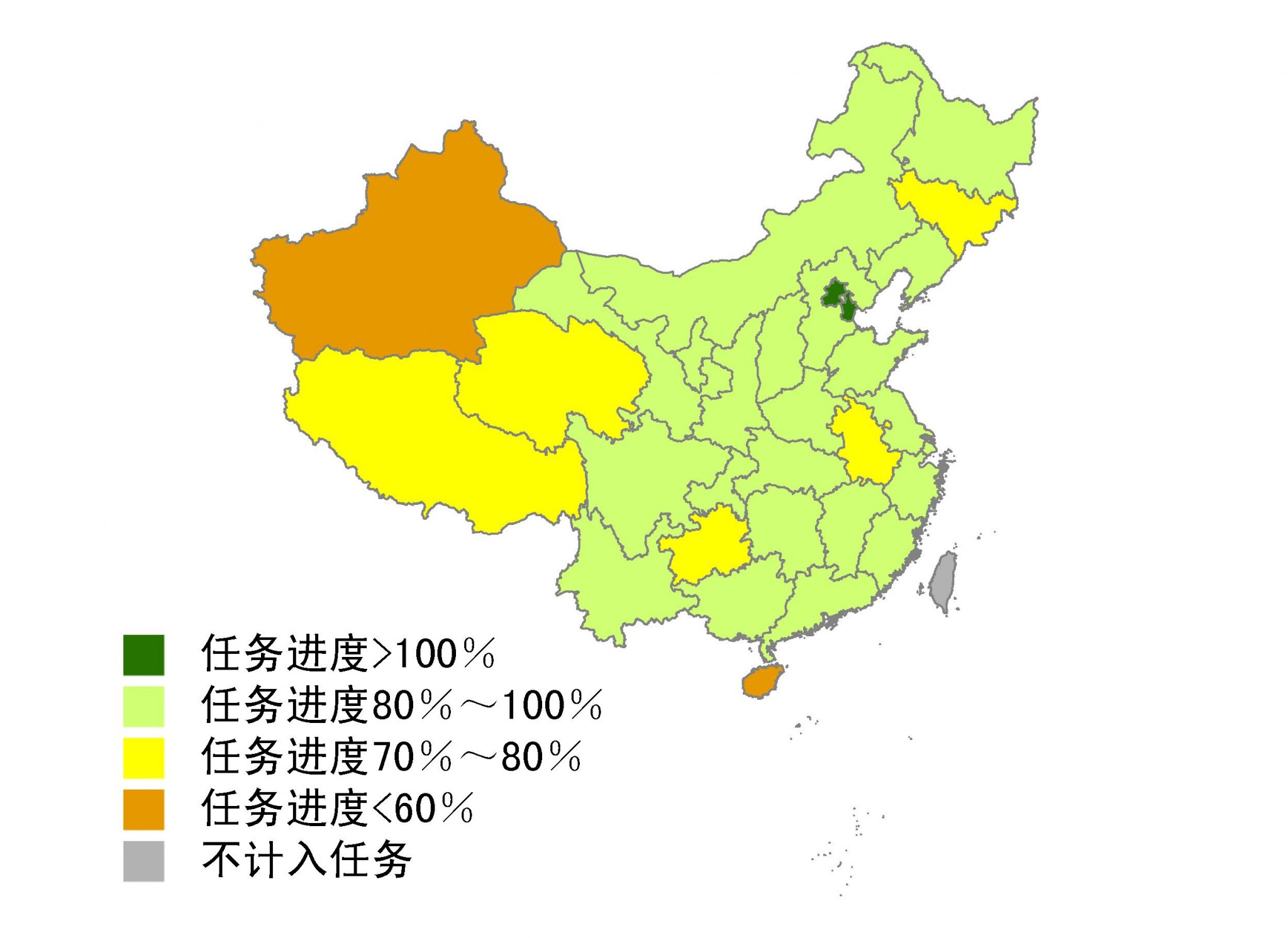 emission reduction rate in china
