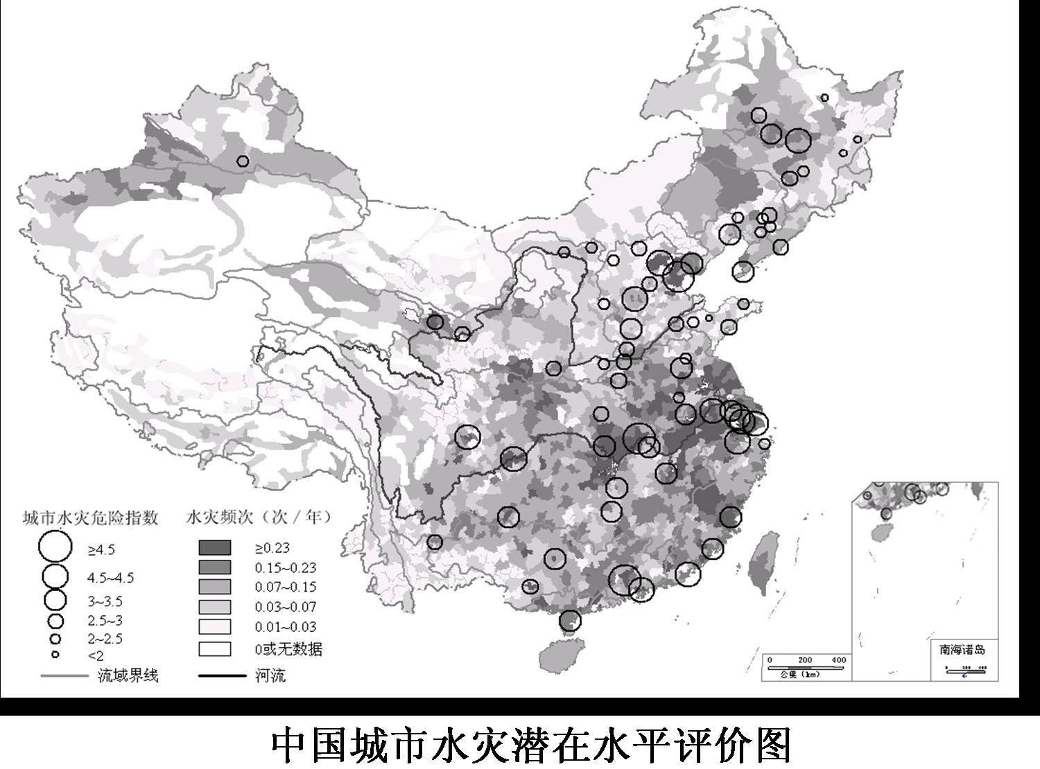 Risk Analysis Graph of China's Floods