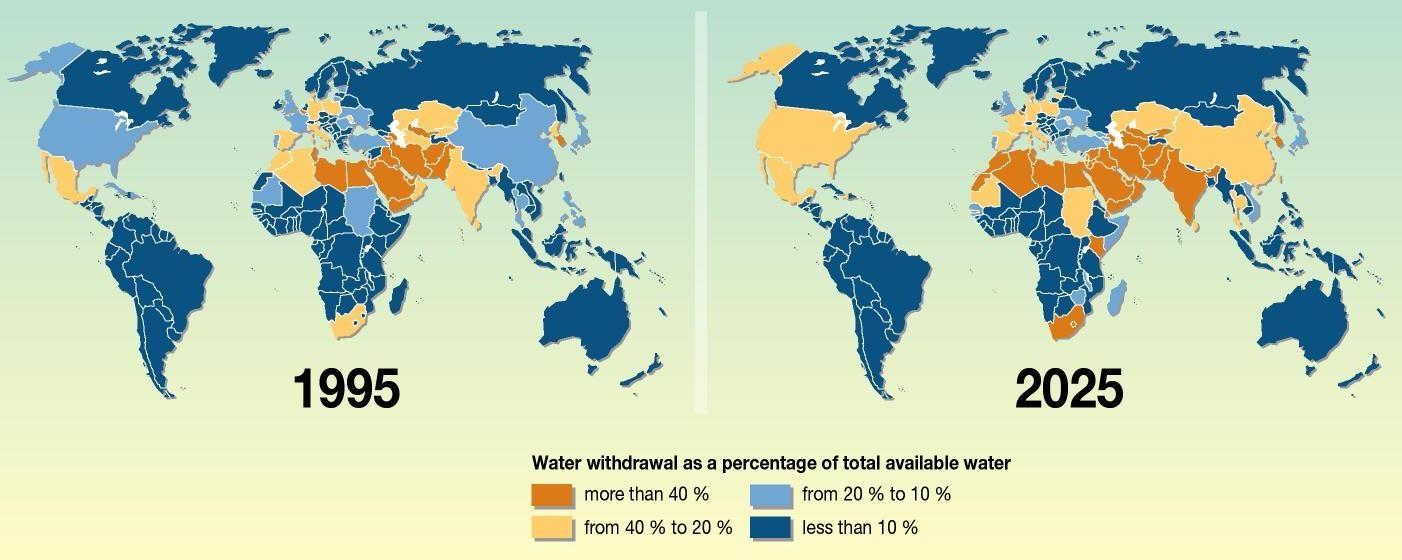 Worldwide Water Stress