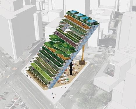 Vertical Farm Sketch