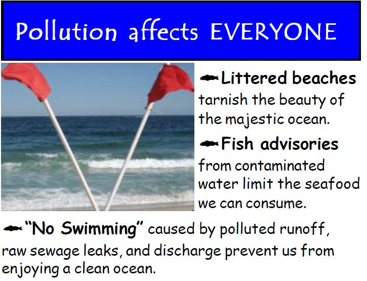 Pollutions affects everyone