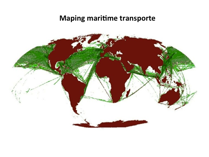Maping maritime transporte