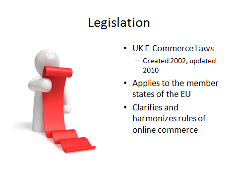 UK E-Commerce Law