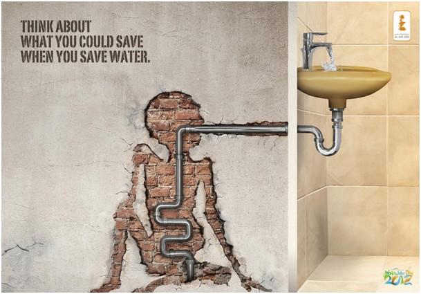 Saving water is saving lives