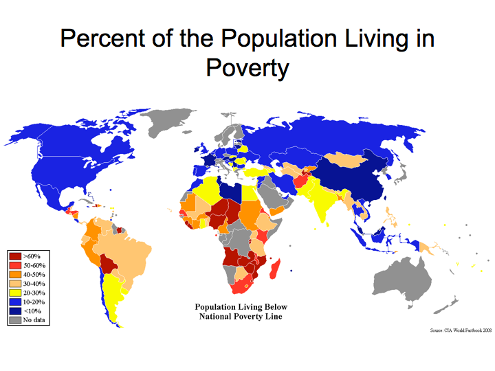 Percent of the Population Living in Poverty