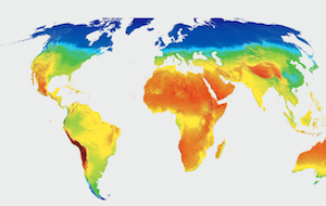 solar world map