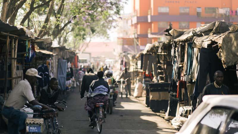 A view of a busy street in Nakuru, Kenya. Photo by: ViktorDobai / CC BY-NC
