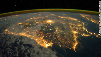 Images from space track relentless spread of humanity