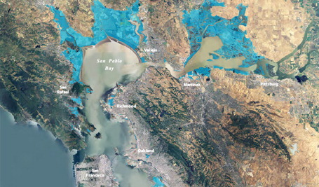 California Sea Level Projected to Rise at Higher Rate Than Global Average; Slowe