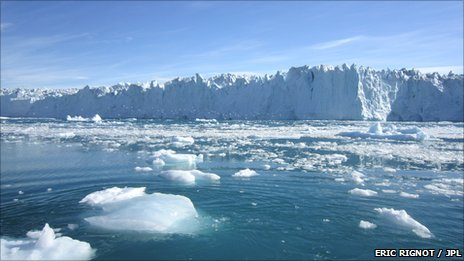 Polar ice loss quickens, raising seas